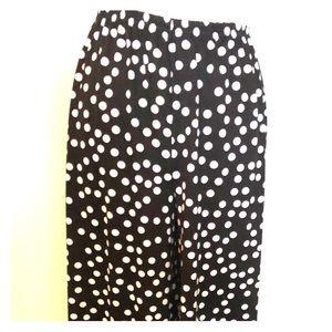 New Directions Polka Dot Pants